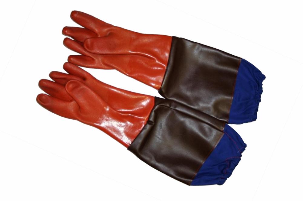 rękawice dla piaskarza
