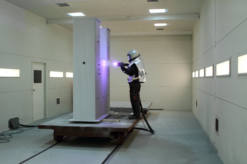 kabina do metalizacji